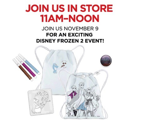 JC Penny Frozen 2 Promotion
