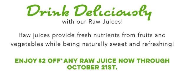 Juice It Up! promotion