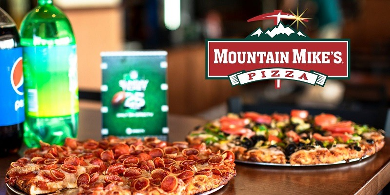 Mountain Mike's Pizza promotion