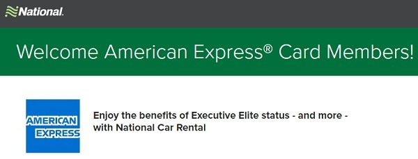 National American Express Executive Elite Promotion