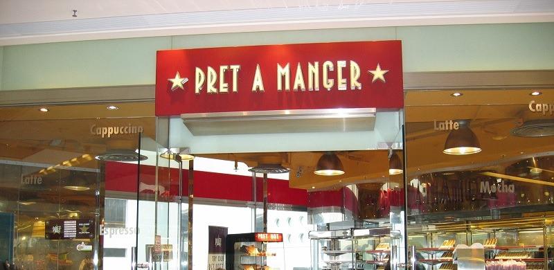 Pret A Manger promotion