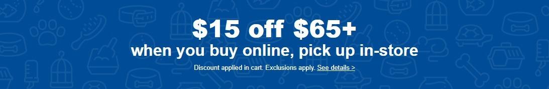 Get $30 Off $65+