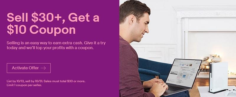 Ebay Promotions 10 Off Coupon Ymmv Etc