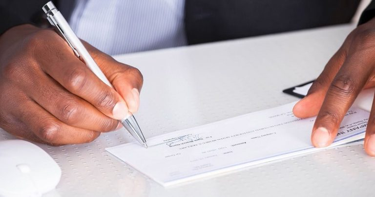 Huntington Bank Guide - How To Write A Check