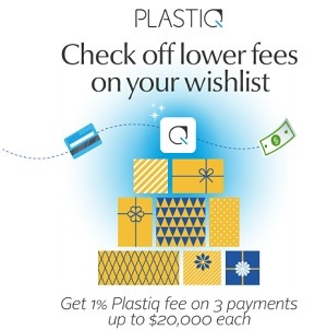 Pay 1% Fee on Up To 3 Payments