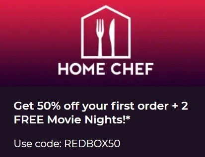 redbox promotion 50 percent off first order and 2 free movie nights