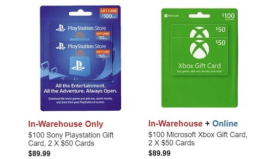 Costco Xbox Playstation GC Promotion