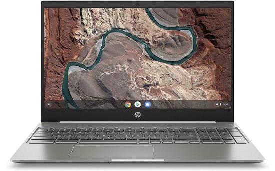 HP Chromebook 15 Micro-Edge Touchscreen Laptop