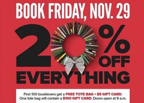 Half Price Books 20 PCT Everything Promotion
