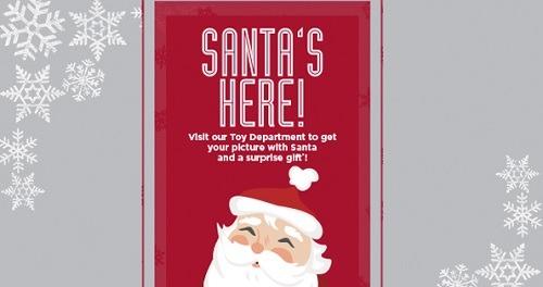 Kohl's Free Santa Pic Promotion