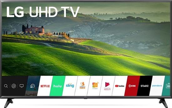 "LG 65"" Class 4K UHD 2160p LED Smart TV With HDR 65UM6950DUB"
