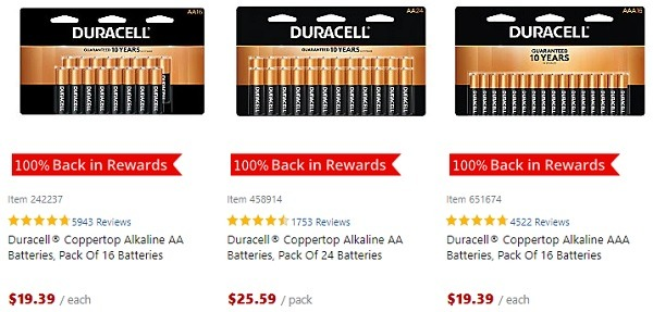Office Depot Free Duracell Batteries Promotion
