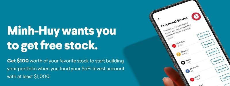 Sofi Invest Bonus