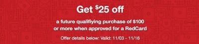 Target New Redcard Holder Offer