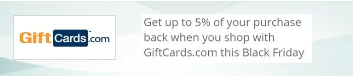 TopCashBack GiftCards.Com Promo