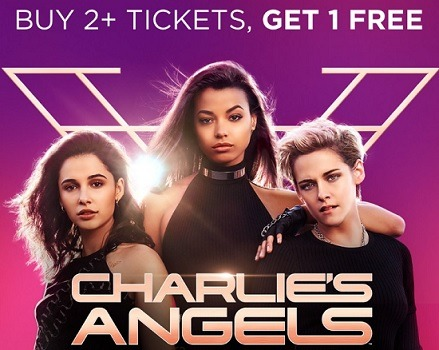 atoms tickets charlies angels tickets promotion buy 2 get 1 free
