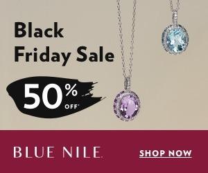 blue nile jewelers black friday sale promotion