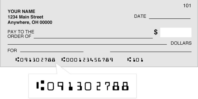 What is a Routing Number on a Check