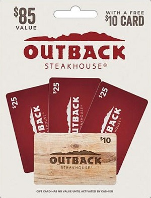 outback steakhouse gift card promotion