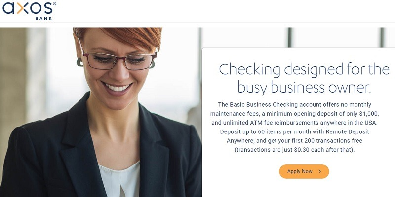 Axos Bank Basic Business Checking