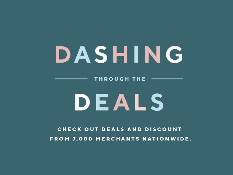 Dashin' Through The Deals Discounts
