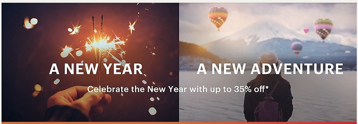 IHG New Years Sale Promotion