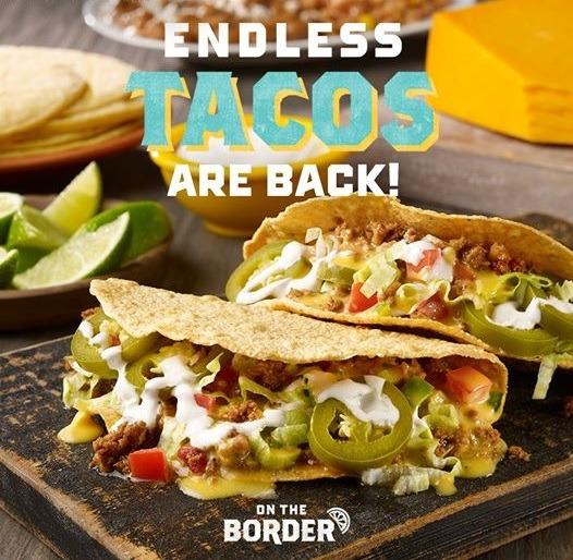 Endless Tacos Starting at $8.99
