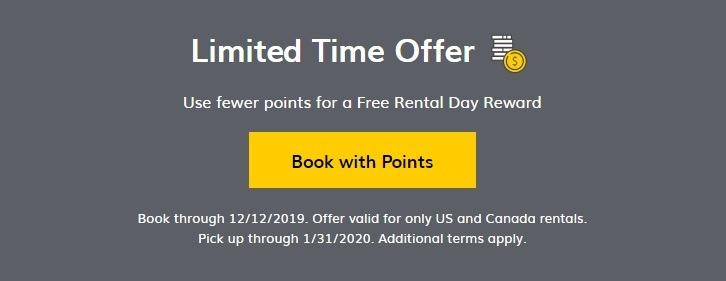 20% Off Free Rental Day Rewards