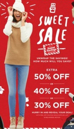 Up to 50% Off w/ Mystery Coupon