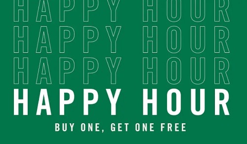 Starbucks Happy Hour Promotion