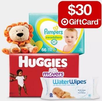 Target 30 GC w 100 purchase Baby Essentials