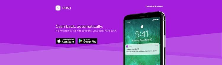 Dosh App promotions