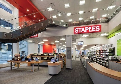 staples 30 off