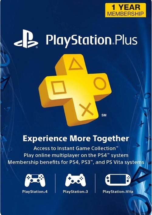 Purchase PlayStation Plus 1 Year Membership for $39.99