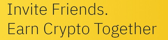 Binance Refer a Friend Promotion