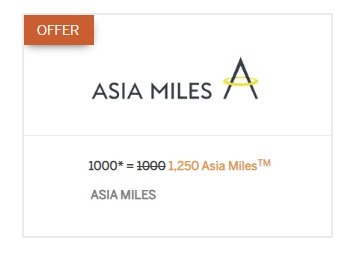 Cathay Pacific Asia Amex Promotion