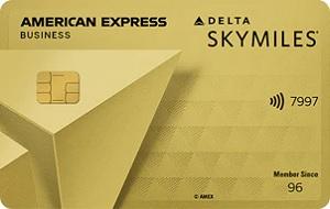 Delta SkyMiles® Gold Business American Express Card Bonus