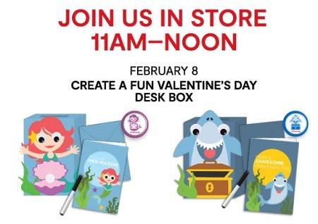 JC Penny Valentines Day Desk Box Promotion