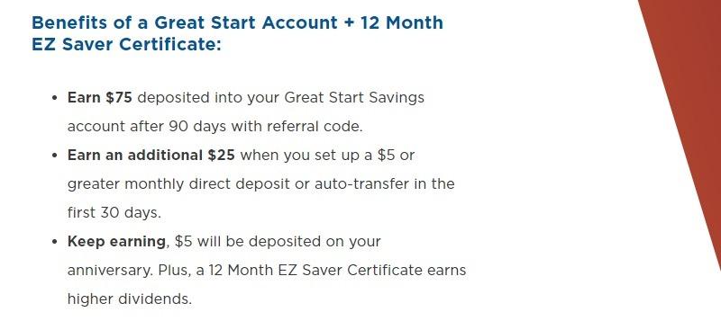ProFed Credit Union Bonus