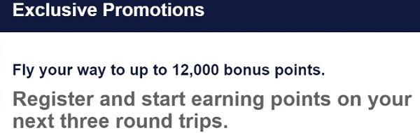 Southwest 12000 Bonus Points Promotion