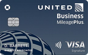 United Business Card Bonus