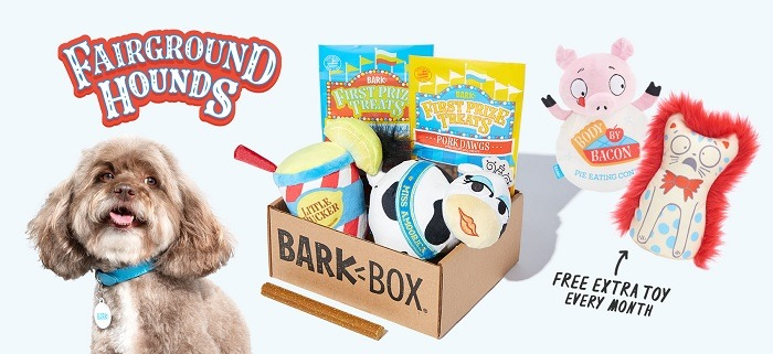 Get A Free Toy in Every BarkBox