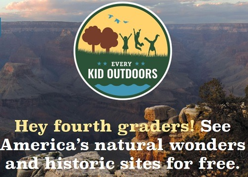 national parks 4th graders free