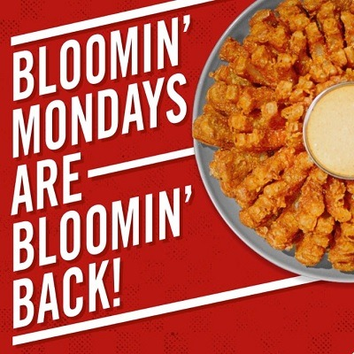 outback steakhouse free bloomin onion