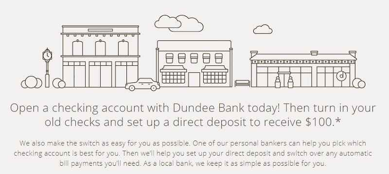 Dundee Bank Promotions