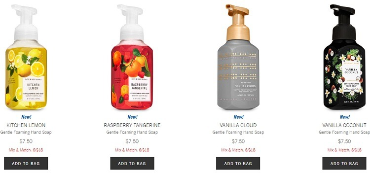 6 Hand Soaps for $18