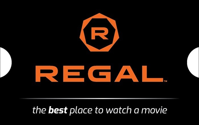 $50 Regal Gift Card for $40