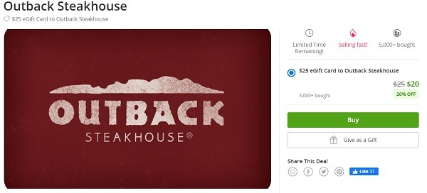 groupon outback steakhouse