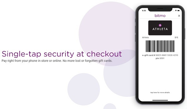 Bitmo Perks Single Tap Security