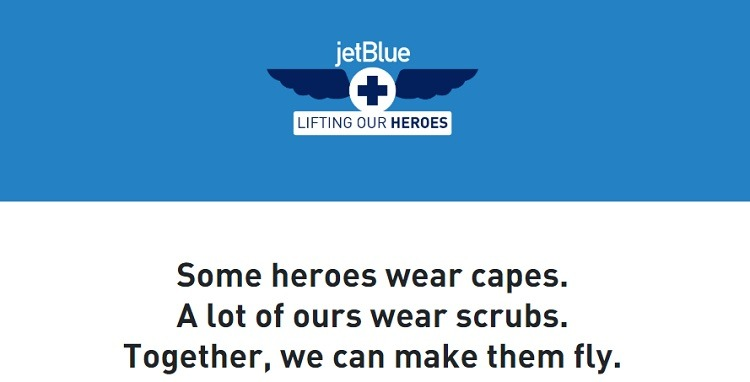 100,000 Pairs of Round-Trip Flights Giveaway to Healthcare Heroes